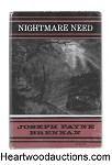 Nightmare Need by Joseph Payne Brennan- High Grade