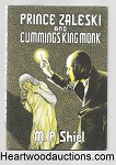 Prince Zaleski and Cummings King Monk by M. P. Shiel Mycroft & Moran (Arkham House imprint) FIRST- High Grade