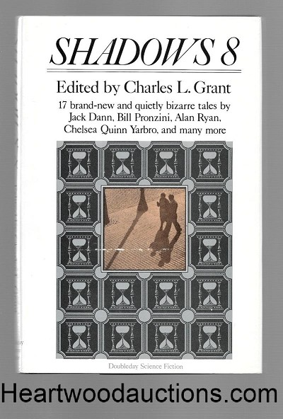 Shadows 8 by Charles L. Grant SIGNED FIRST