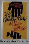 The Killing Man by Mickey Spillane SIGNED FIRST- High Grade