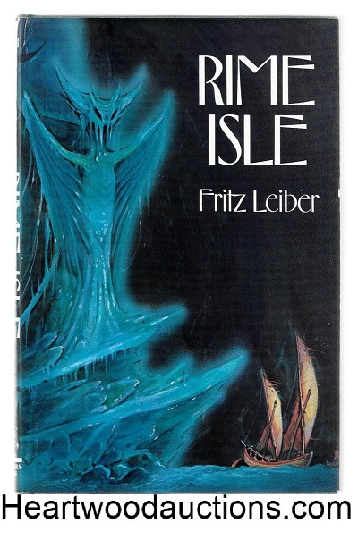 Rime Isle by Fritz Leiber SIGNED 1st Jim Kirk CVR- High Grade
