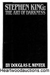 Stephen King: The Art of Darkness by Douglas E. Winter SIGNED FIRST- High Grade