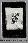 Blood Runs Cold by Robert Bloch SIGNED FIRST