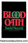 Blood Oath by David Morrell SIGNED 1st