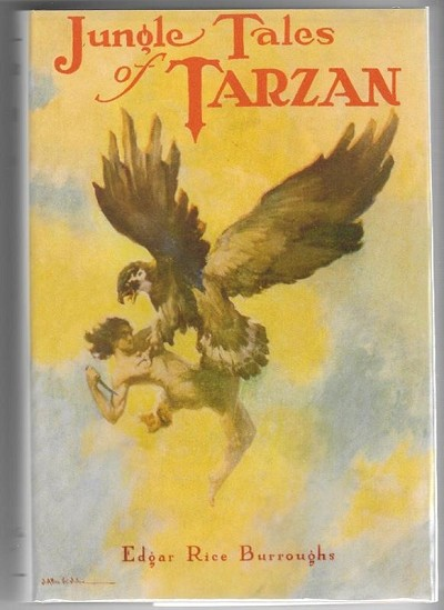 Jungle Tales of Tarzan by Edgar Rice Burroughs 1st St.John Art Fax DJ