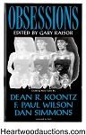 Obsessions by Gary Raisor (editor) Ltd Edition Signed by 32- High Grade