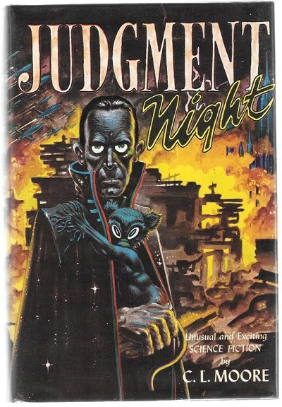 Judgment Night by C. L. Moore Signed 1st Kelly Freas Fax cvr