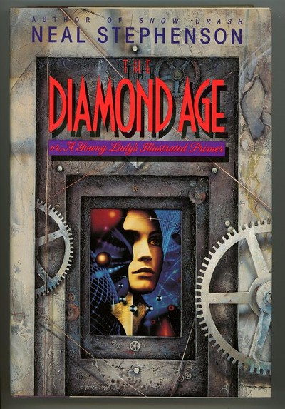 The Diamond Age by Neal Stephenson (first edition)- High Grade