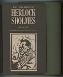 The Adventures of Herlock Sholmes by Peter Todd Signed, Limited- High Grade