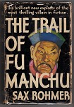 The Trial of Fu Manchu by Sax Rohmer (A.L. Burt) w/DJ