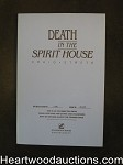 Death in the Spirit House by Craig Strete  (SOFTCOVER)- High Grade