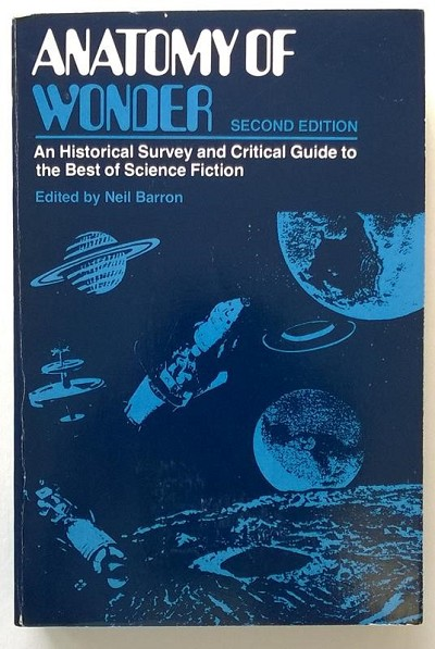 Anatomy Of Wonder by Neil Barron (SOFTCOVER)