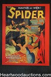 The Spider Master Of Men by Emile C. Tepperman (SOFTCOVER)- High Grade