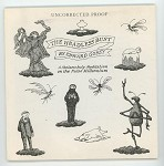 The Headless Bust by Edward Gorey (Uncorrected Proof) (SOFTCOVER)