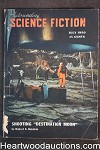 Astounding Science Fiction July 1950 Edd Cartier Art, Heinlein