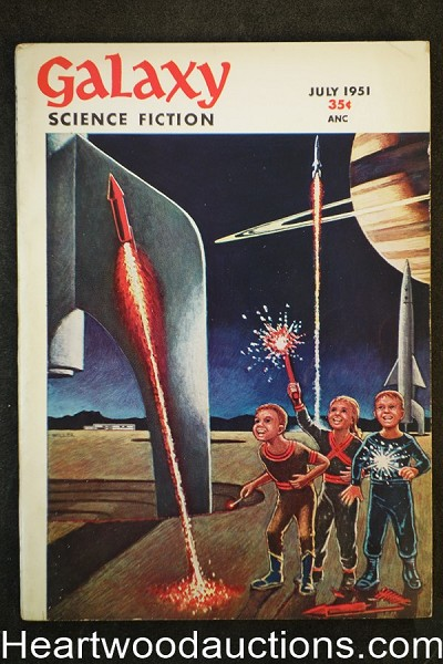 Galaxy Science Fiction Jul 1951  John D. MacDonald, Tenn, Leiber, Lesser