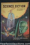 Astounding Science Fiction Sep 1949 Edd Cartier Art, de Camp, Poul Anderson