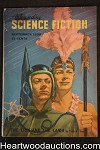 Astounding Science Fiction Sep 1950 Edd Cartier Art, Fritz Leiber