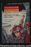 Fantasy and Science Fiction Aug 1958 Heinlein, Matheson, Emsh Cvr