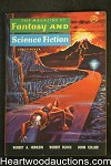 Fantasy and Science Fiction Sep 1958 Heinlein, Bloch, Emsh Cvr - High Grade