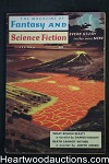 Fantasy and Science Fiction Feb 1959 Issac Asimov, Joel T. Rogers, Damon Knight