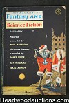 Fantasy and Science Fiction Jan 1962 Asimov, Bester, Poul Anderson