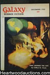 Galaxy Science Fiction Dec 1952 Asimov, Simak, Sheckley