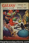 Galaxy Science Fiction Feb 1955 Emsh Cvr, Fredrick Pohl