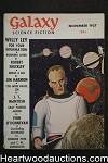 Galaxy Science Fiction Nov 1957 Frederik Pohl, Kornbluth