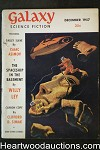 Galaxy Science Fiction Dec 1957 Asimov, Simak, Leiber, Tenn