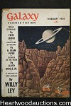 Galaxy Science Fiction Feb 1958 Harry Harrison, Fritz Leiber