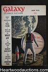 Galaxy Science Fiction Jun 1958 Frederik Pohl, Fritz Leiber