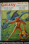 Galaxy Science Fiction Feb 1963 Gordon R. Dickson, Simak, Cordwainer Smith;  Aldiss