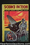 Science Fiction Adventures Feb 1953 Earle Bergey Cvr, Kelly Freas Art