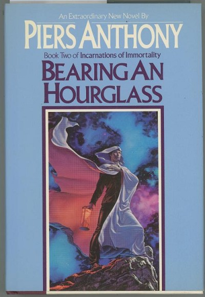 Bearing an Hourglass by Piers Anthony (First Edition)