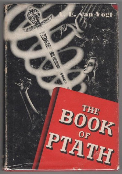 The Book of Ptath by A.E. van Vogt (First Edition) A. J. Donnell Art