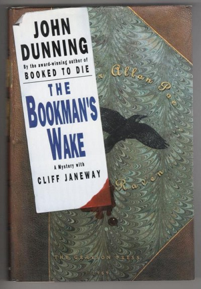 The Bookman's Wake by John Dunning (First Edition) Signed
