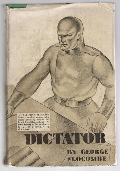 Romance of a Dictator by George Slocombe (First Edition)