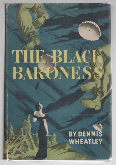The Black Baroness by Dennis Wheatley (First Edition)