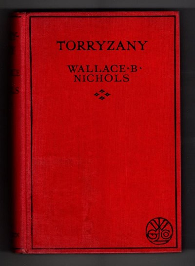 Torryzany by Wallace B. Nichols (First Edition) File Copy