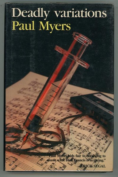 Deadly Variations by Paul Myers (First US Edition)