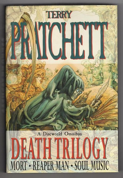 Death Trilogy by Terry Pratchett (First UK Collected Edition) Gollancz File Copy