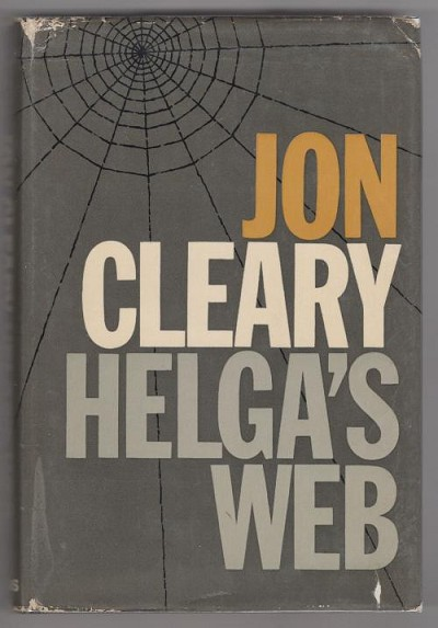 Helga's Web by Jon Cleary (First Edition)