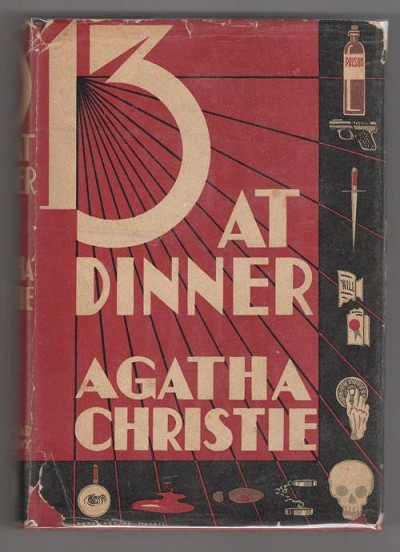 Thirteen at Dinner by Agatha Christie (First Edition)