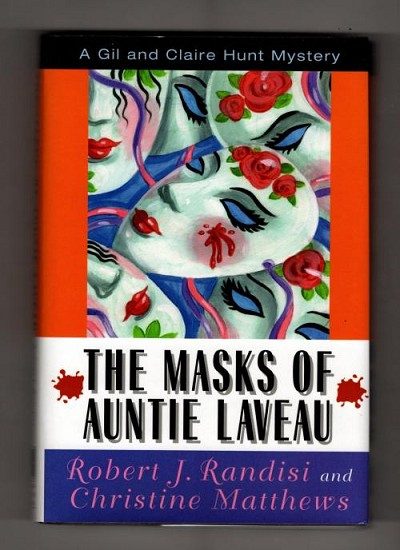 The Masks of Auntie Laveau by Robert J. Randisi, Christine Matthews (First Edition)