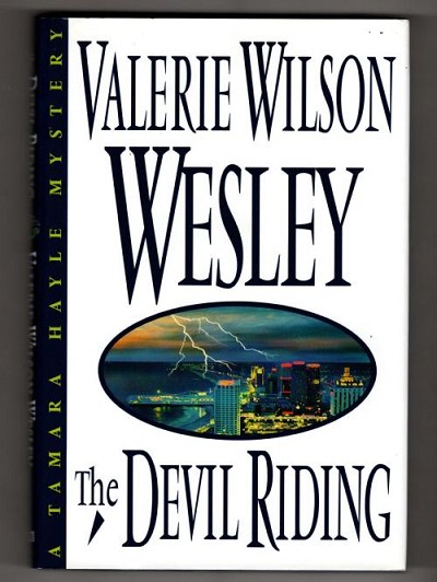 The Devil Riding by Valerie Wilson Wesley (First Edition)