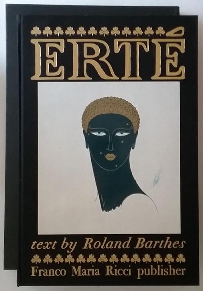 ERTE by Roland Barthes (First Edition) Limited Copy #543