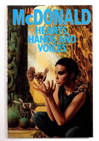 Hearts, Hands and Voices by M.  John Harrison (First UK) File Copy