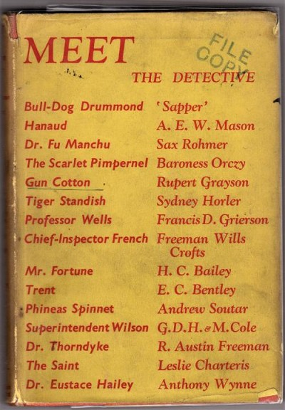 Meet the Detective by Cecil Madden (First Edition) File Copy.