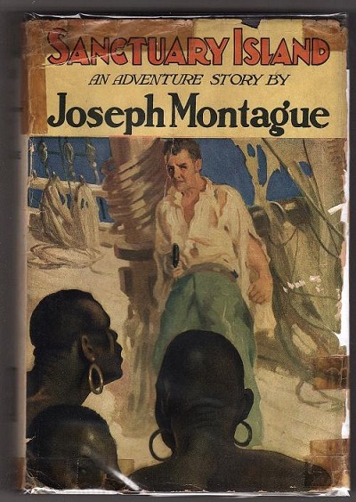 Sanctuary Island by Joseph Montague (First Edition)